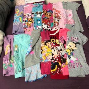 Toddler Character tees bundle